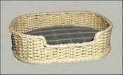 Dog basket large, 6,5 cm long (without fabric)