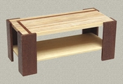 Modern coffee table, 42 mm high