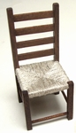 Chair, seat von rope, 85 mm high
