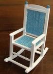 Rocking chair, 80 mm high