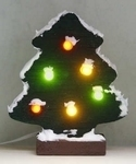 Christmas tree with LED lamps