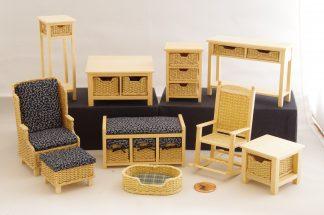 Meubeltjes/miniaturen met waxdraad